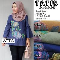Baju Atasan Wanita Muslim Blouse Tatik