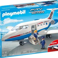 PLAYMOBIL 5395 CITY ACTION PASSENGER PLANE not lego GOSEND