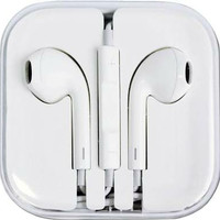 Apple Earphone / Headset / Handsfree For IPhone 4/5/6 White