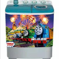 stiker mesin cuci 2 tabung Thomas