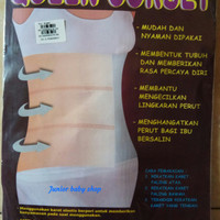 queen corset 3 band gurita perekat untuk ibu yang sudah melahirkan