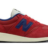Sepatu Sneakers New Balance MRL 420 SC Reengineered-Revlite Suede Red