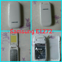 Casing Original Samsung Lipat E1272 Full Set