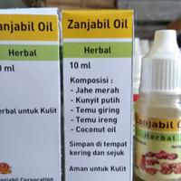 Zanjabil Oil Herbal Untuk Kulit, Jerawat, Bisul, Cacar dll