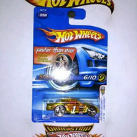 Hot Wheels Stockar XRaycer Angka 1 Faster Than Ever FTE First Edition
