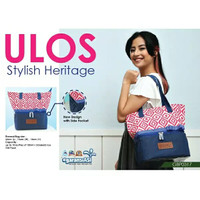 GABAG COOLER BAG SYLISH BATIK ULOS