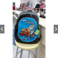 tas sekolah anak laki gambar mobil truck alto 49763 M