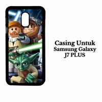 Casing Samsung J7 PLUS lego star wars 3 wallpaper Custom Hard Case Cov