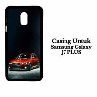 Casing Samsung J7 PLUS Slammed Audi A4 Allroad Custom Hard Case Cover