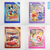 Paket Buku aktivitas Disney Seek and Find (isi 4) activity book TK A-B