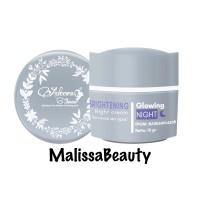 Brightening Night Cream ( Cream Malam WS ) Adeeva Skincare