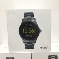 Jam Tangan LED Fossil Smartwatch Q Marshal Black FTW2108