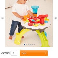 elc light and sounds activity table mainan anak kreatif