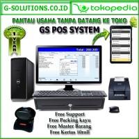 Paket Komputer Kasir Full Set Unlimited Support Siap Kerja 24 Jam