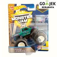 Hot Wheels Monster Jam King Krunch Diecast Bigfoot 1/64 Mainan Anak