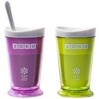 Gelas Shaker Milk Shake Maker Zoku Slush Smoothies Nice Ice Cream Make