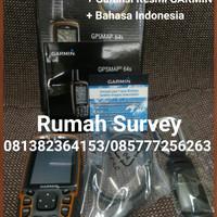 GPS GARMIN GPSMAP 64s / GARMIN 64 s / 64si / 64 si + Peta Indonesia