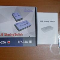 USB DATA SWITCH AUTO 2 PORT (SHARING SWITCH PRINTER AUTO 2 PORT)