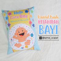 Bantal Kado & Hadiah Kelahiran Bayi 30x40cm - Ready - NO PO