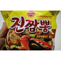 Ottogi Jin Jjambbong Hot&Spicy Seafood Korean ramen