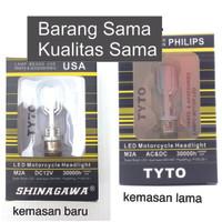 Lampu Philips LED Depan Motor Bebek Matic Supra Beat Mio Vario