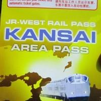 JR KANSAI AREA PASS 3 DAYS - DEWASA