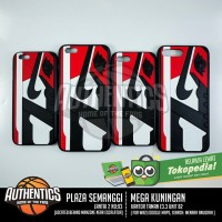 harga 3d Sneakers Series Iphone Case - Aj 1 Black Toe Tokopedia.com