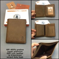 dompet pria hushpupies kulit dompet wanita kulit asli lipat mini