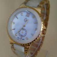 jam tangan wanita / cewe GC guess fashion crono detik rantai kw super