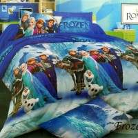 Bedcover Romeo ukuran 120 x 200 / Extra Single / No.3 - Frozen