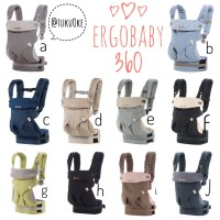 Ergo Baby Carrier 360; Ergobaby 360 Four Position; Dusty Blue