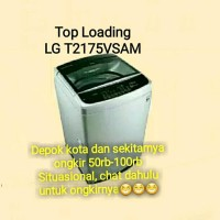 new model MESIN CUCI 1 TABUNG LG T2175VSAM INVERTER
