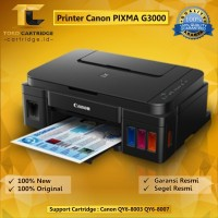 Printer Pixma Canon G3000 G 3000 Original Print Scan Copy Wifi PSCW