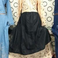 DRESS WANITA TERBARU 2018 Baju India Dress Maxi casandra + pasmina