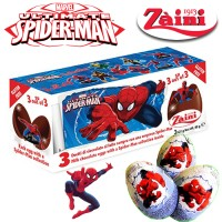 Zaini Coklat Spiderman Surprise Chocolate Eggs