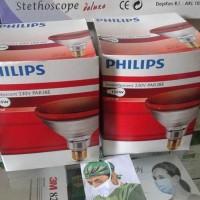 Lampu Bohlam Terapi Kesehatan Philips Infrared Meredakan Nyeri Pegal