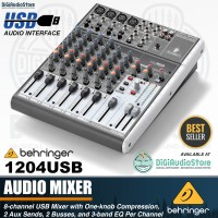 Behringer XENYX 1204USB / 1204 USB 12 input With Soundcard Recording