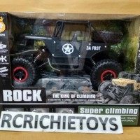 ROCK CRAWLER JEEP 4X4 RC OFF-ROAD 2.4GHZ 4WD SCALE 1.16 JD TOYS