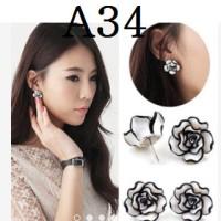 Anting Korea (Kalung gelang import cincin perhiasan set xuping)