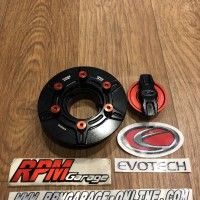 Evotech Gas Cap BMW S1000RR Black Red
