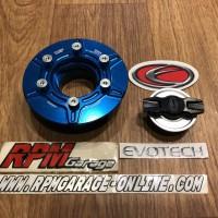 Evotech Gas Cap BMW S1000RR Blue Silver