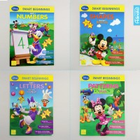 Paket Buku Disney Smart Beginnings Shapes Numbers Letters (isi 4) Anak
