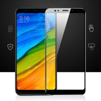 Tempered Glass 3D Full Color Xiaomi Redmi 5 Plus