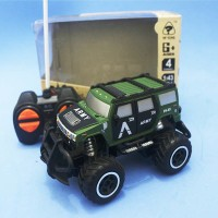 RC Rock Crawler Mini Car Milittary Scale 1:43 - Mobil Remot Off-Road