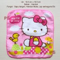 Hello Kitty Sapu Tangan Handuk or Kain Lap Serbaguna Type1