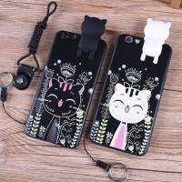 Xiaomi Redmi 4A Mimi 3D Cat Hello Kitty Soft Case Silicone Back Casing