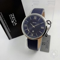 Jam Tangan Zeca ZC 1016 Silver Blue Jam Wanita Original Murah Cantik