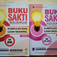 Buku sakti Ujian Nasional IPA Ganesha Operation