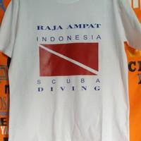 Fashion / Atasan / T-Shirt / DIVING RAJA AMPAT SCUBA DIVING