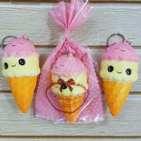 Squishy Murah Mini Ice Cream Cute Sunny